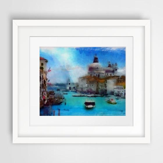 """""""Venice"""" watercolors art"""