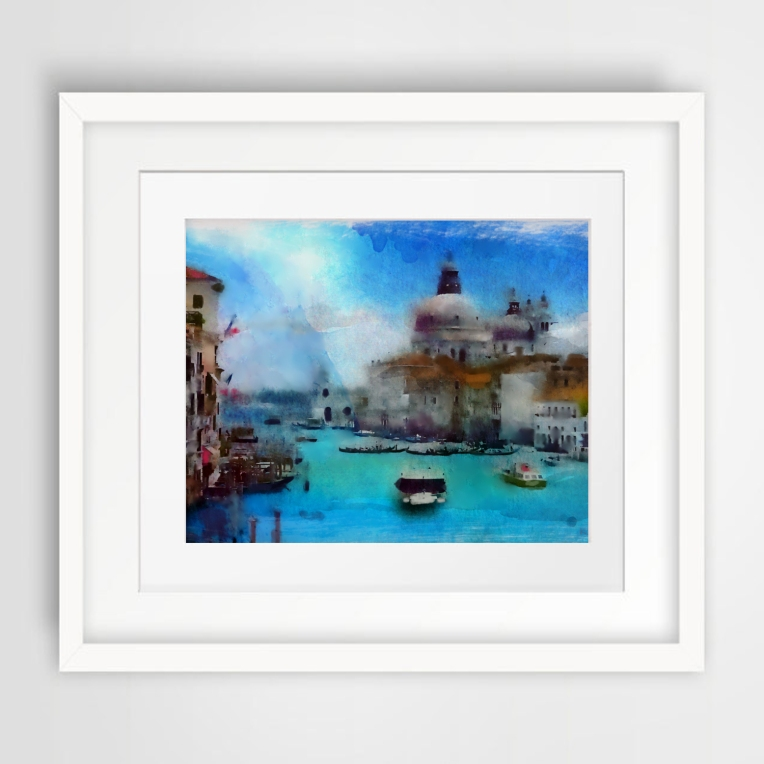 """Venice"" watercolors art"