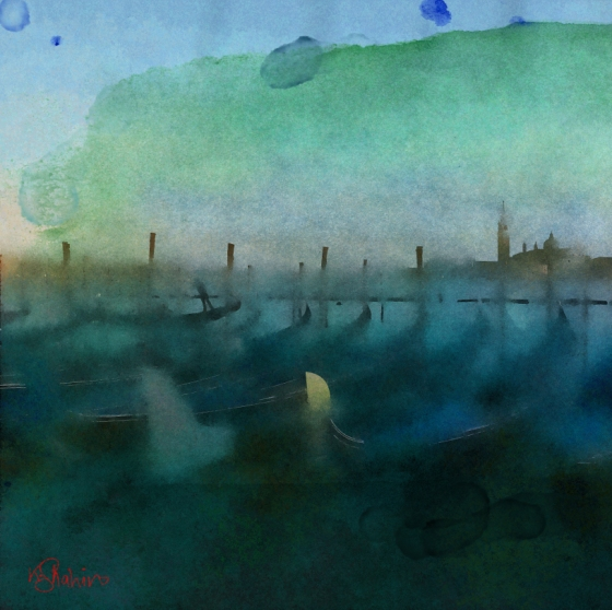 Artwork by artist Khalid Shahin