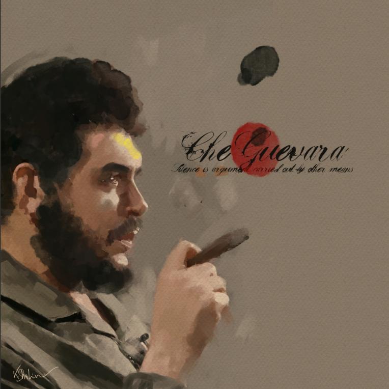 Che Guevara by Khalid Shahin