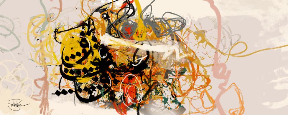 لوحة وفنان