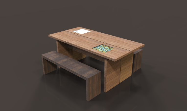 """Mace"" dinning table"