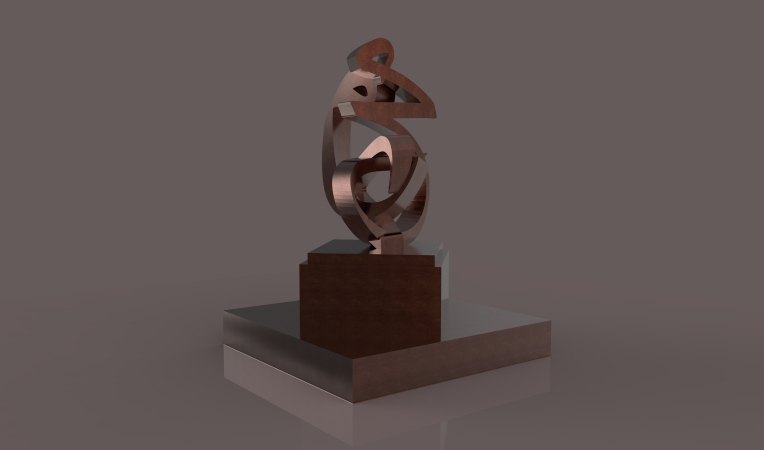 Mohammed-Peace be upon him - Sculpture