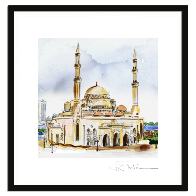 Al Noor Mosque - Sharjah UAE